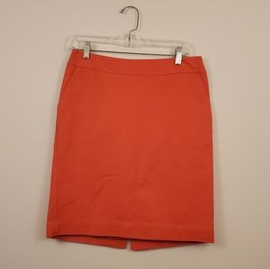 Merona coral pencil skirt size 4